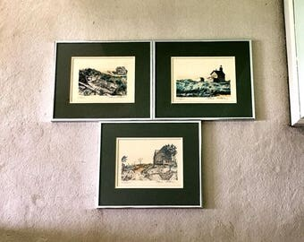 Norm Altman ( 3 ) signed limited edition prints