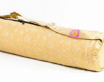 Golden Orb Yoga Bag