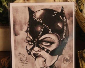 Catwoman! new art print