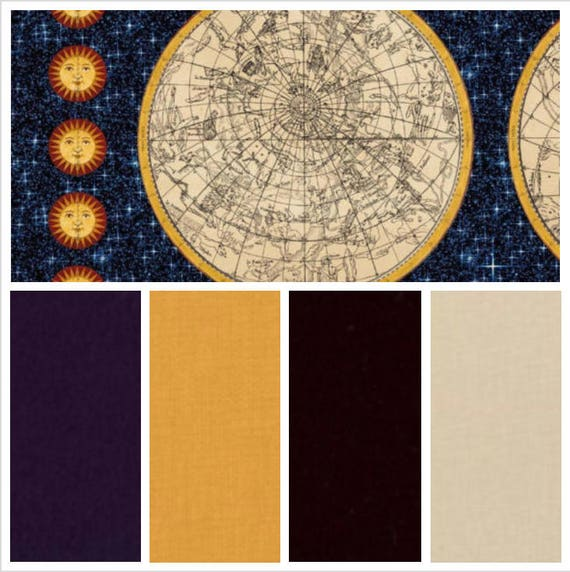 Galileo Celestial Map, Weighted Blanket, Cotton, Up to Twin Size, 3 to 20 Pounds, Adult Weighted Blanket, SPD, Autism, Calming Blanket