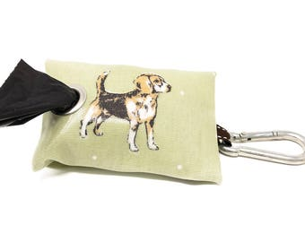 Beagle Poo Bag Holder - Poo Bag Holder - Poo Bags - Beagle Owner - Poop Bag Holder - Dog Poo Bag Dispenser - Dog Owner Gift - Leash Bag