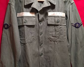 Vintage U.S Air Force Field Shirt 1950's/1960's.