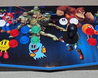 Bartop Arcade multicade MAME Handmade plug and play plays thousands of games