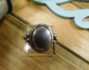 Simple Sterling Silver Ring - Size 10.75