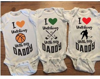 Baby Boy Onesies, Boy Onesies, Sports Onesies, Baby Boy Cute Onesies, Basketball Onesies, Golf Onesies, Hockey Onesies