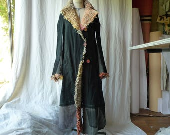 black long coat M/L