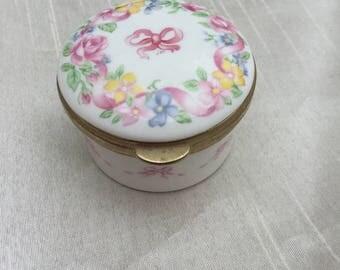 Small Vintage Decorative Trinket Box