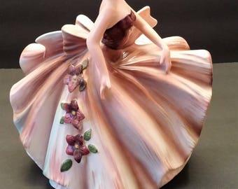 Lefton Exclusives Porcelain Lady Planter
