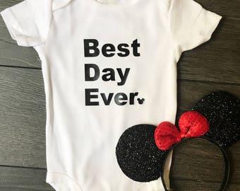 Disney Best Day Ever Shirt