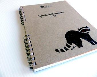 "Organizer 2018 - 8.5x11"" - Ëthok"
