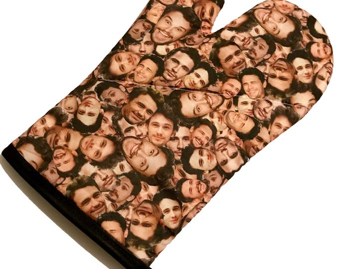 Featured listing image: James Franco oven mitt