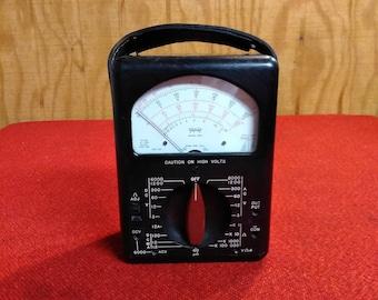 Vintage Triplet Milliammeter Model 630 Ohms Voltage Meter