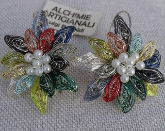 Flower Earrings with hook