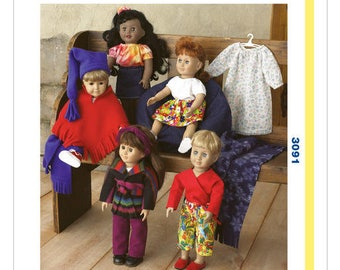 Sewing Pattern For 18 Doll Clothes