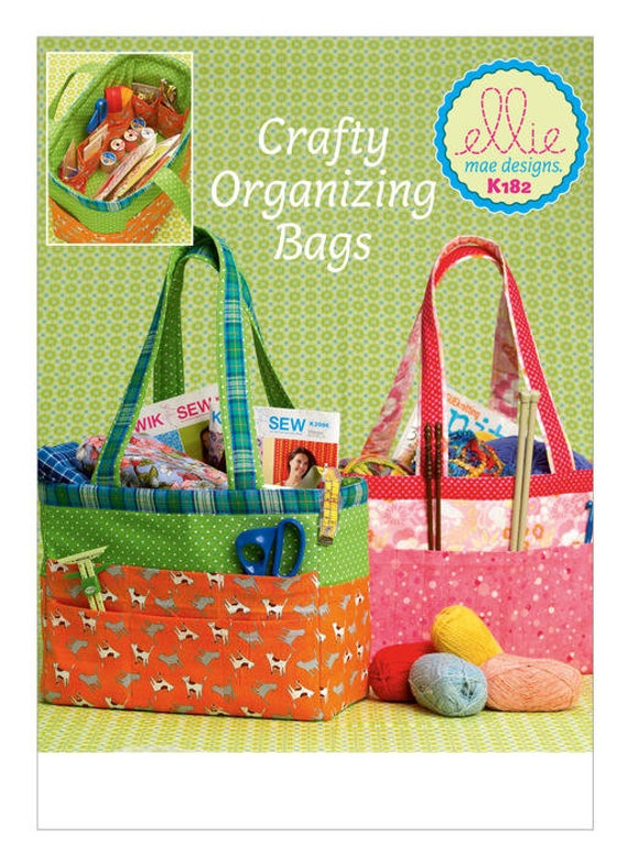 Sewing Pattern for Project Organizer Tote Bags, Kwik Sew ...
