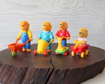 1986 Berenstain Bears McDonald's Happy Meal Toys
