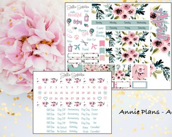 April Montly Kit - Annie Plans - A6