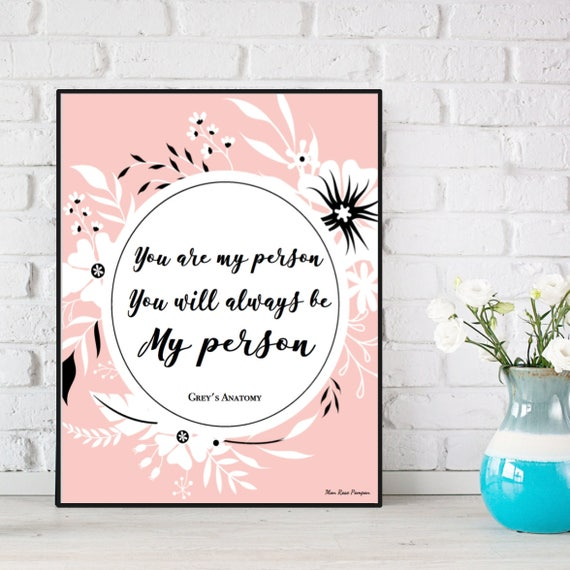 Greys Anatomy Wall Decor : Love poster quote grey s anatomy