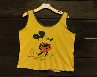 Vintage 70s/80s Mickey Mouse Tank
