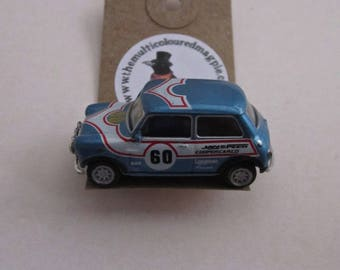 Mini Cooper Brooch