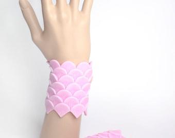 Custom Color-Mermaid Cuffs - Handmade with high quality silicone