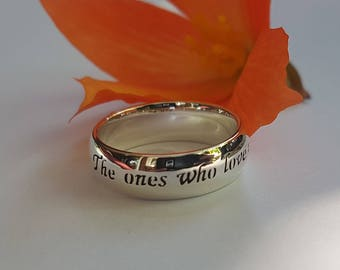 Harry Potter Ring, J.K. Rowling, quote ring, Sirius Black, Personalized ring, 925 sterling silver, Handmade, JK Rowling
