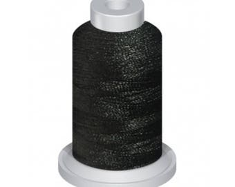 0020 Black - 1100Yd Embroidery Machine Thread Spool - 40 Weight (120/2) Premium Polyester Thread - For Home and Commercial Embroidery