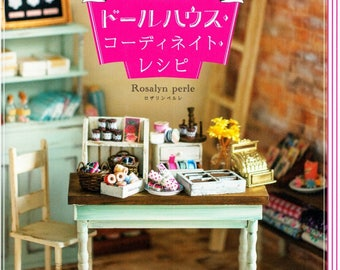 Doll House Coordinate Recipe Japanese eBook Pattern Craft Instant Download PDF Tutorial Pictures Furniture Pattern Doll Blythe Nice Pattern