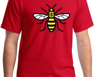 MANCHESTER Bee t-shirt solidarity support tshirt