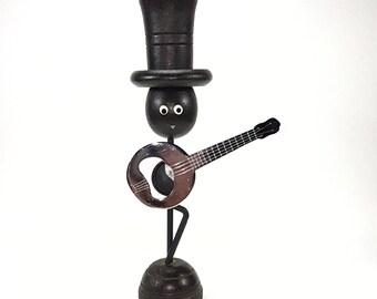 1950s Banjo Player Bottle Opener