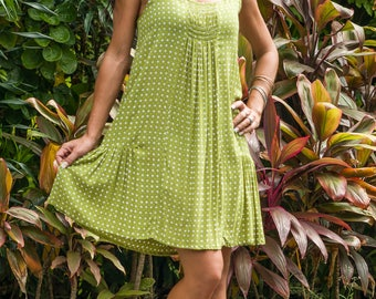 Daphne Dress, Sundress, Summer Dress, Shift Dress, Beach Dress, 114-128