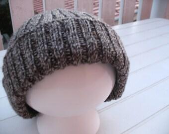 Coordinated BEIGE brown hat