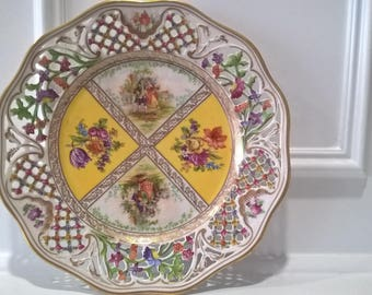 Schumann Bavaria - Germany - Porcelain Plate