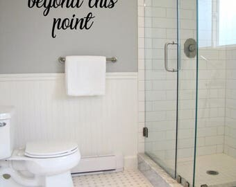 clothing is optional beyond this point vinyl wall decal sticker home u0026 living custom
