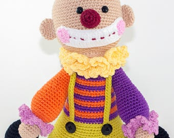 Gerald the Clown - Crochet Toy