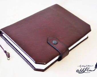 """Leather Notepad """"HANDY BOOK"""""""