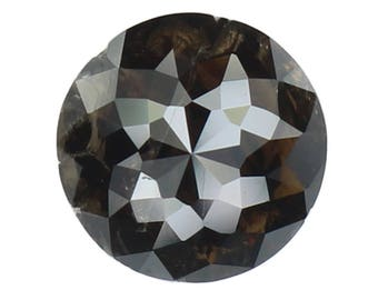 6.00 MM 1.05 Ct Natural Loose Diamond Round Rose Cut Fancy Color N3516