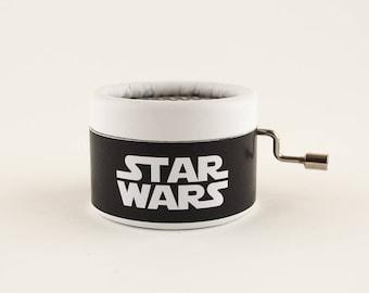 Black and white Star Wars Music Box