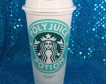 Polyjuice Potion Customized Starbucks Travel Cup