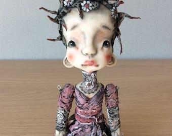 O.O.A.K. Art doll Moppiedoll Jessica de Geus