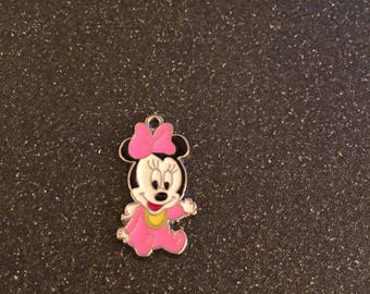 Baby Minnie Mouse charm