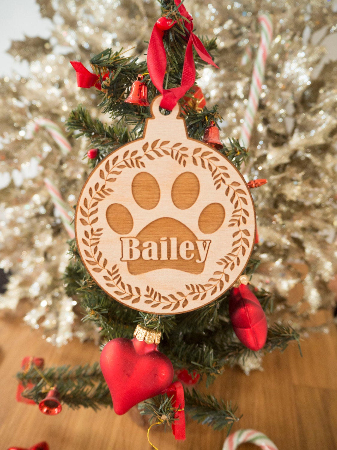Personalized Dog Christmas Ornament Personalized Gift Pet