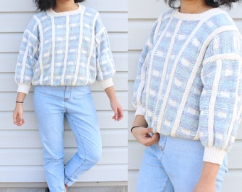Baby Blue Chunky Knit Sweater