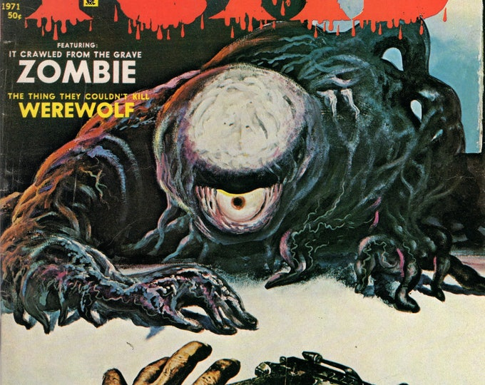 Tales From The Tomb Vol. 3  #1 February 1971 EERIE Publications HORROR Comic VF