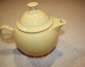 Fiesta Yellow Teapot