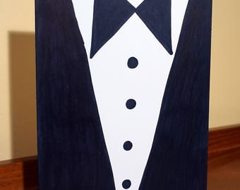 Tuxedo Greeting Card - Bachelor Parties, Weddings, Engagements, Any Celebration