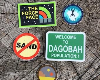 Star Wars Inspired Sticker 5-Pack