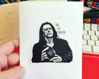 Valentines Day Card // The Room // Tommy Wiseau // Valentines card for spouse // The Disaster Artist // I Love You // Gift for Spouse