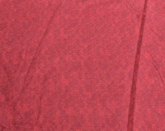 Dit Dot Flannel-Red-Cotton Flannel Fabric from In the Beginning Fabrics