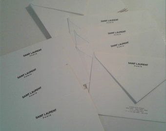 YSL stationary blank note cards with envelopes!